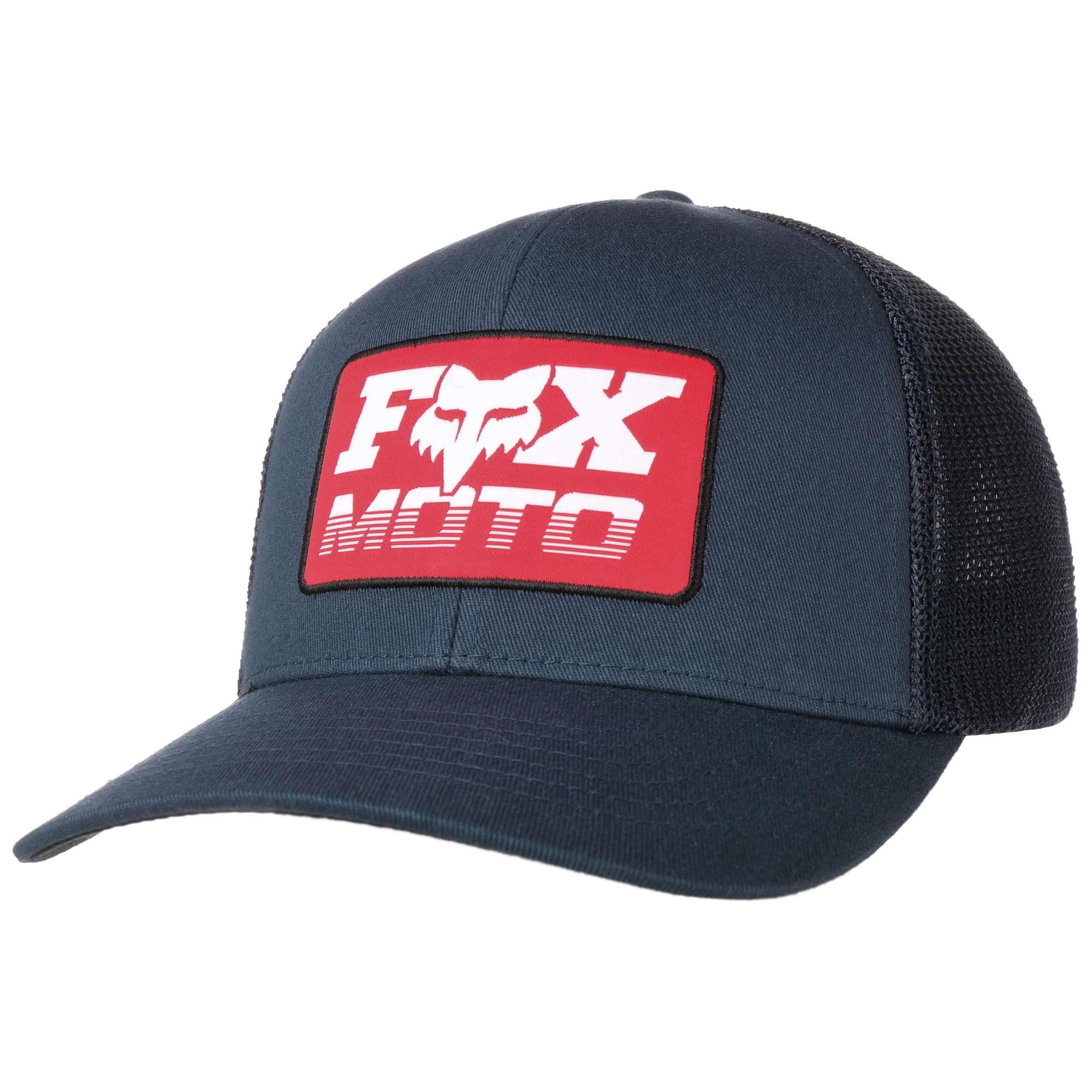 FOX Castr Flexfit Cap Basecap Baseballcap Fullcap Caps Herren