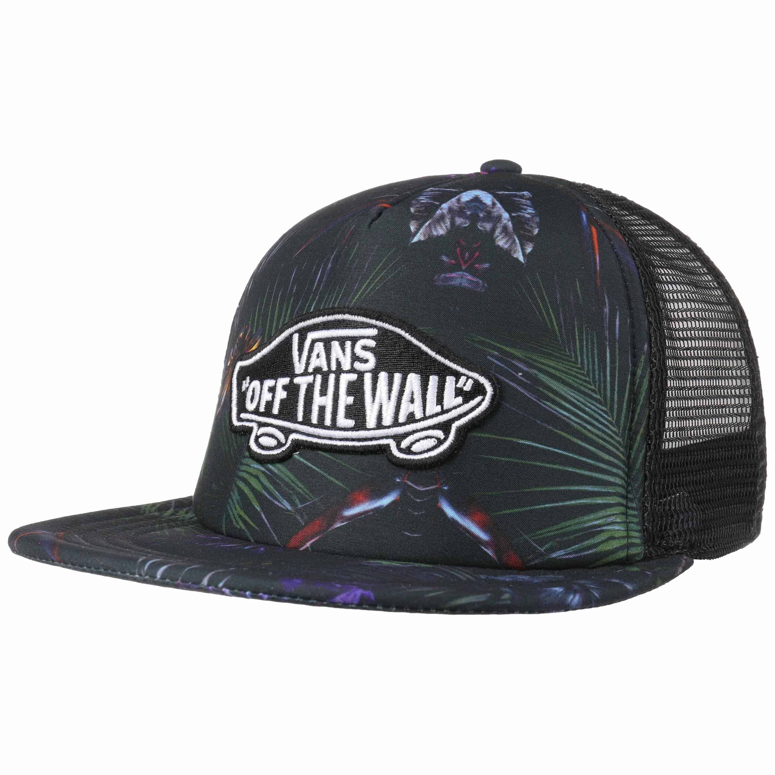 classic patch jungle trucker cap by vans 37 95 chf. Black Bedroom Furniture Sets. Home Design Ideas
